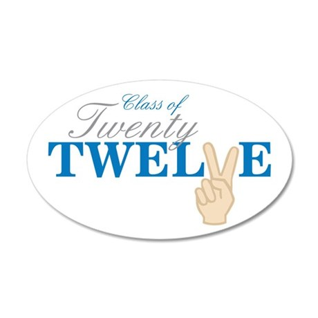 Class Of Twenty Twelve Wall Decal