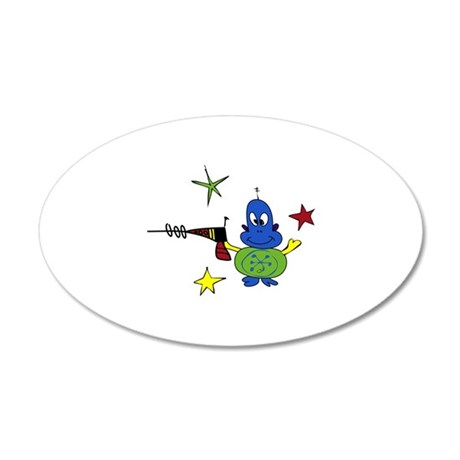 Creatures Aliens Extraterrestrial Wall Decal