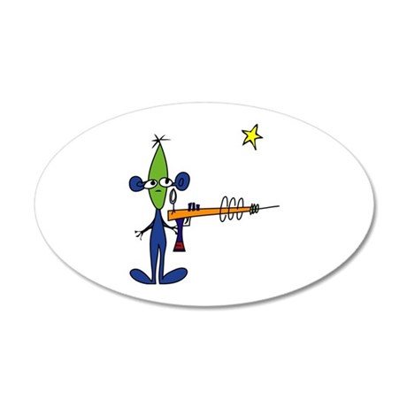 Creatures Aliens Wall Decal