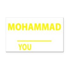 Unique Mohammad Rectangle Car Magnet