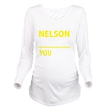 Funny Nelson Long Sleeve Maternity T-Shirt