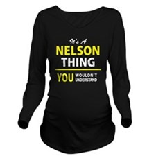 Cute Nelson mandela Long Sleeve Maternity T-Shirt