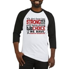 Diabetes How Strong We Are Baseball Jersey