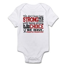 Diabetes How Strong We Are Infant Bodysuit