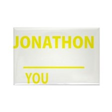 Cute Jonathon Rectangle Magnet