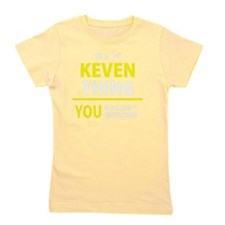 Cute Keven Girl's Tee