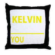 Cute Kelvin Throw Pillow