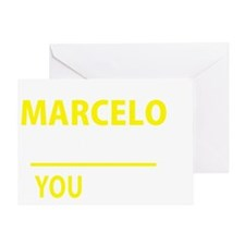Cute Marcelo Greeting Card