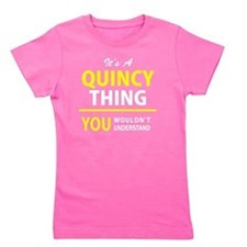 Cute Quincy Girl's Tee