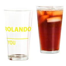 Cute Rolando Drinking Glass