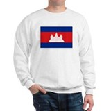 flag of Cambodia Sweatshirt