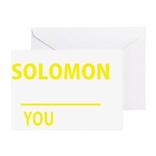 Cute Solomon Greeting Card