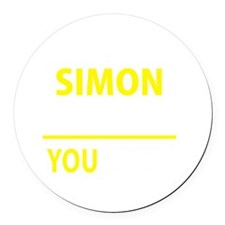 Cool Simon Round Car Magnet