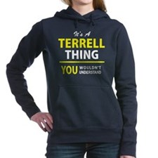 Cute Terrell Women's Hooded Sweatshirt