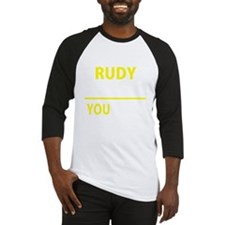 Unique Rudy Baseball Jersey