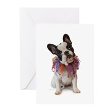 French Bulldog Puppy Greeting Cards (Pk of 10)