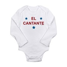 Cute Puerto rico, ortiz Long Sleeve Infant Bodysuit