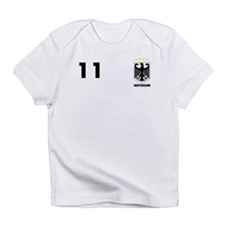 Germany Custom Jersey Infant T-Shirt