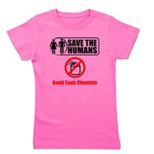 Save The Humans Girl's Tee