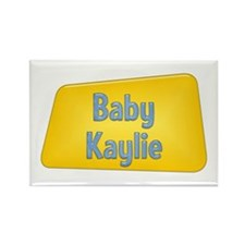 Baby Kaylie Rectangle Magnet