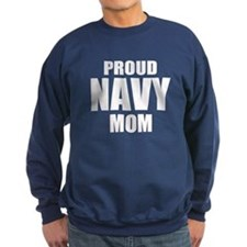 Proud Navy Sweatshirt