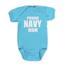 Proud Navy Baby Bodysuit