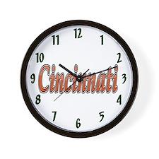 Cincinnati Sports Wall Clock