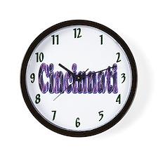 Cincinnati Lightning Wall Clock