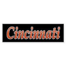 Cincinnati Sports Bumper Bumper Sticker