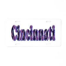 Cincinnati Lightning Aluminum License Plate