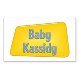 Baby Kassidy Rectangle Decal