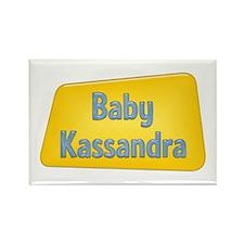 Baby Kassandra Rectangle Magnet (100 pack)