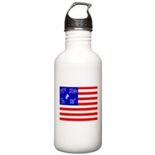 Pictish American Flag Water Bottle