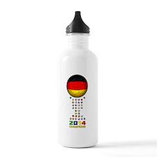 Germany World Champions 2014 Water Bottle