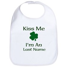 Kiss me I'm a Last Name Bib