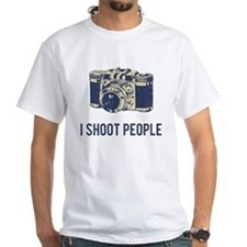 I Shoot People Photography Camera T-Shirt