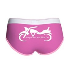Keep Calm and Ride On - W Women's Boy Brief