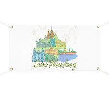 Saint Petersburg Russia Banner