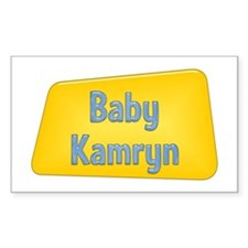 Baby Kamryn Rectangle Decal
