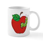 Wormy Apple Coffee Mug