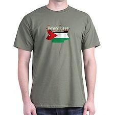 Jordan flag ribbon T-Shirt