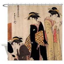 Geishas Shower Curtain