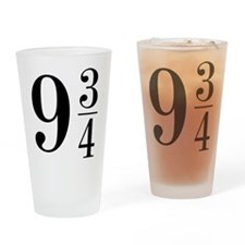 9 AND 3/4 Drinking Glass