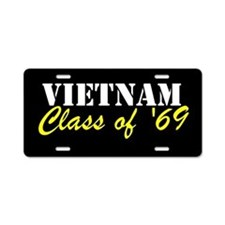 Vietnam Class Of 1969 Aluminum License Plate