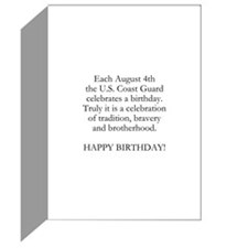 HAPPY BIRTHDAY COAST GUARD CA Greeting Cards (Pk o