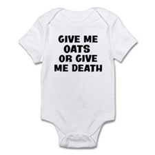 Give me Oats Infant Bodysuit