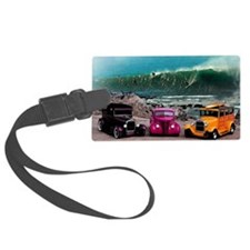 Wave Rides Luggage Tag