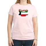 Kuwait flag ribbon T-Shirt
