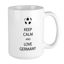 Keep Calm And Love Germany Mugs