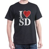 I Love South Dakota T-Shirt